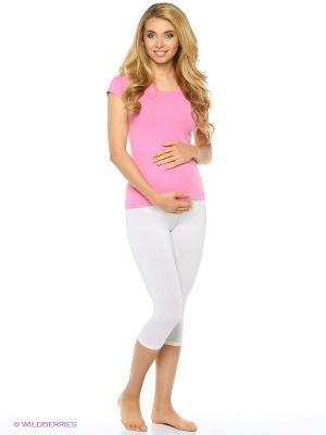 Лосины для беременных Nuova Vita. Цвет: молочный