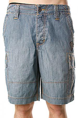 Джинсовые шорты  Kinney Stone Grey Aspen Gold Quiksilver. Цвет: синий