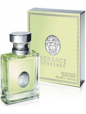 Туалетная вода Versense, 50 мл Versace. Цвет: светло-зеленый