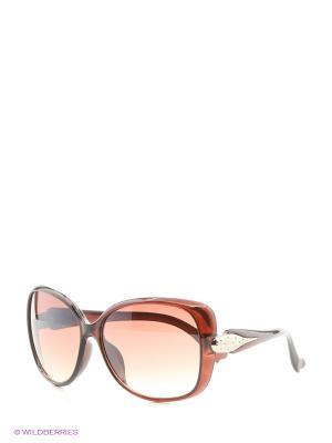 Солнцезащитные очки Vittorio Richi. Цвет: красный, оранжевый, бежевый