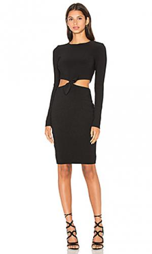Платье с длинным рукавом lucienne BEC&BRIDGE. Цвет: черный