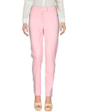 Повседневные брюки CAPOBIANCO. Цвет: розовый