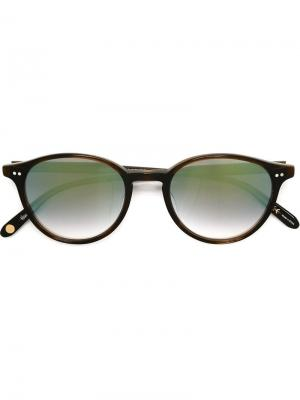 Солнцезащитные очки Pacific Garrett Leight. Цвет: коричневый