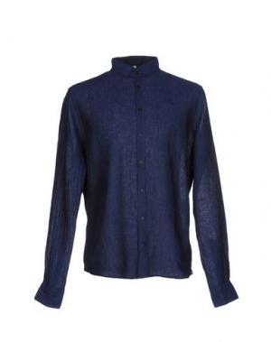 Pубашка Q1. Цвет: темно-синий