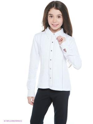 Блузка Bronnse. Цвет: белый