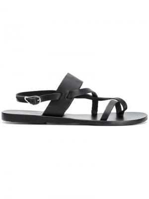 Сандалии Alethea Ancient Greek Sandals. Цвет: чёрный