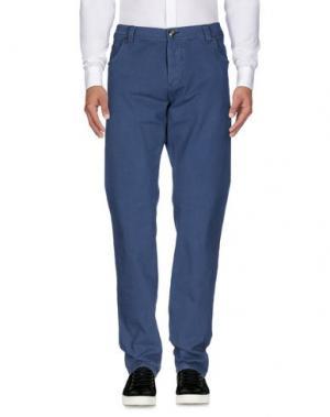 Повседневные брюки NICWAVE. Цвет: пастельно-синий