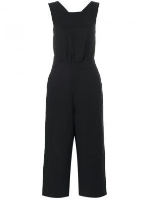 Комбинезон с перекрестной спиной Mih Jeans. Цвет: чёрный