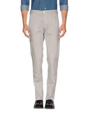 Повседневные брюки GUYA G.. Цвет: светло-серый