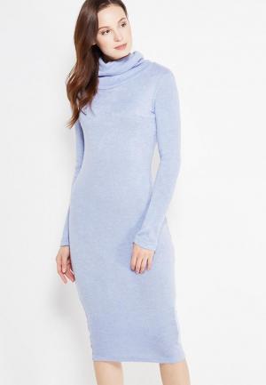 Платье SK House. Цвет: голубой