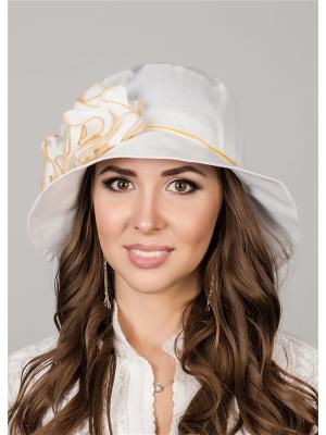 Шляпа Level Pro. Цвет: желтый, белый