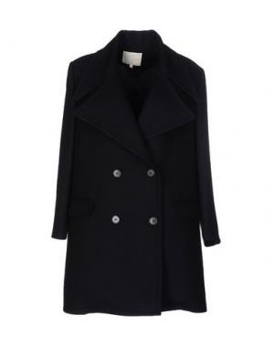 Легкое пальто TROU AUX BICHES. Цвет: темно-синий