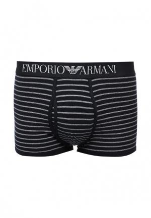 Трусы Emporio Armani. Цвет: синий