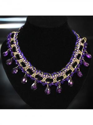 Ожерелье BB1. Цвет: фиолетовый