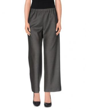 Повседневные брюки QL2 QUELLEDUE. Цвет: темно-зеленый