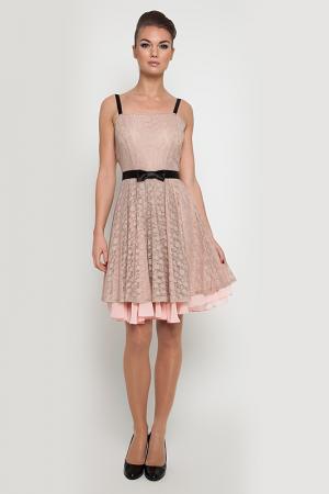 Платье NVCollection. Цвет: розовый