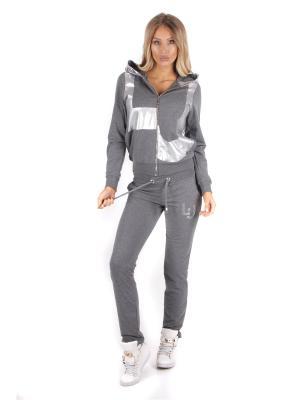 Спортивный костюм WHITNEY. Цвет: серый