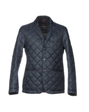 Куртка CONTE OF FLORENCE. Цвет: темно-синий