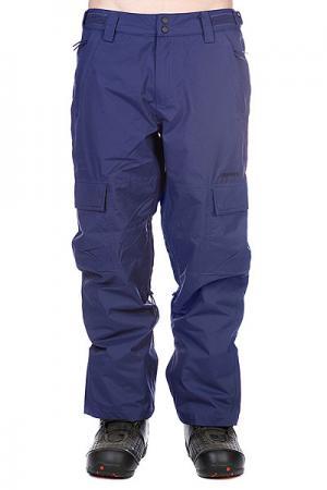 Штаны сноубордические  Snow Pant Limmer Men Navy Zimtstern. Цвет: голубой