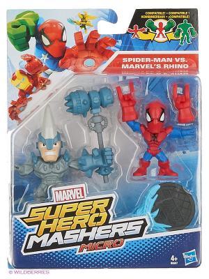 Набор Микро Фигурок Марвел Hasbro. Цвет: белый, бирюзовый, бордовый, красный, синий