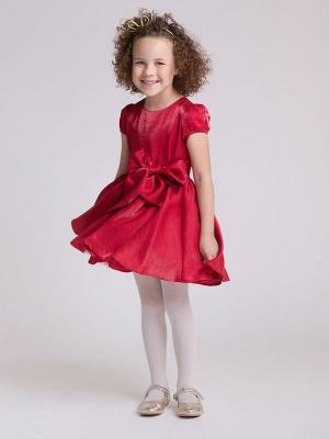 Платье PlayToday. Цвет: красный