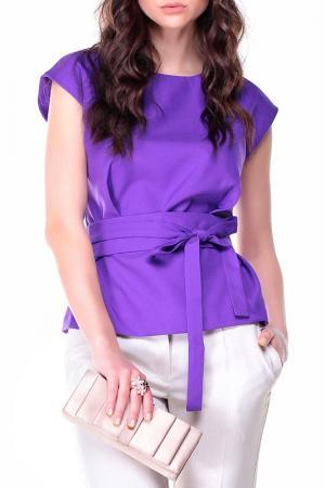 Блуза Dioni. Цвет: фиолетовый