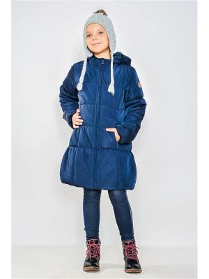 Пальто MANAI. Цвет: синий