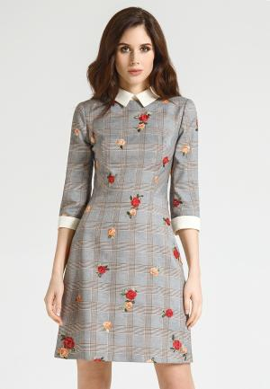 Платье Devita. Цвет: серый