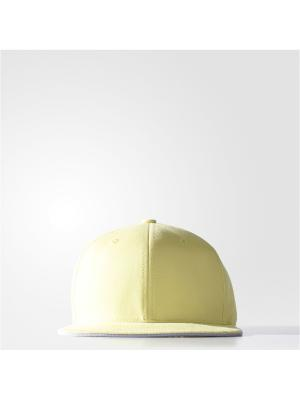 Бейсболка Adidas. Цвет: желтый