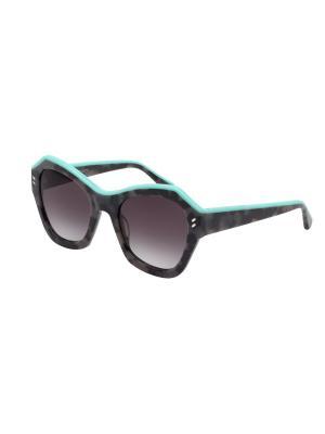 Солнцезащитные очки Stella McCartney. Цвет: коричневый, светло-коричневый