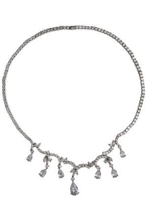 Ожерелье CHARMELLE. Цвет: серебряный