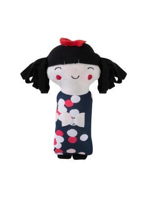 Игрушка-подушка Кукла Endo. Цвет: белый, черный