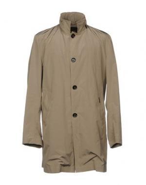 Легкое пальто MOORER. Цвет: песочный