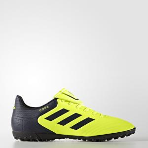 Футбольные бутсы Copa 17.4 TF  Performance adidas. Цвет: желтый