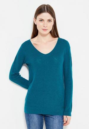 Пуловер Wallis. Цвет: бирюзовый