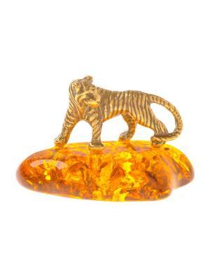 Фигура Тигр маленький Aztek. Цвет: желтый, коричневый, светло-оранжевый