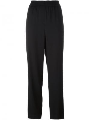 Прямые брюки DKNY. Цвет: чёрный
