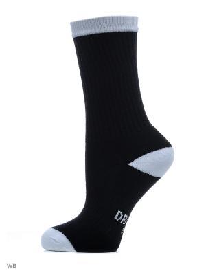 Носки NIKE SB 3PPK CREW SOCK. Цвет: черный