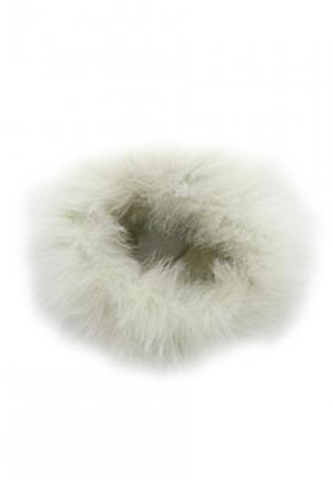 Ободок мех LUISA SPAGNOLI. Цвет: белый