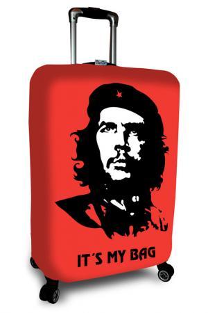 Чехол на чемодан SOVA COVER. Цвет: че гевара
