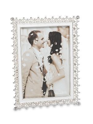 Фоторамка Мгновения любви 9*13 Bellezza casa. Цвет: серебристый