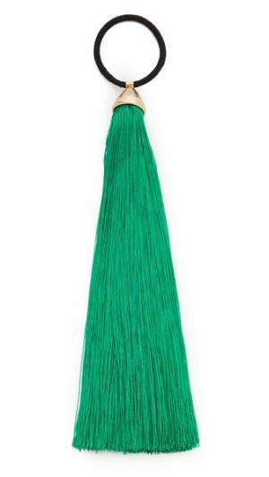 Резинка для волос Teatro Rosantica. Цвет: зеленый