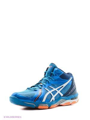 Кроссовки GEL-VOLLEY ELITE 3 MT ASICS. Цвет: синий, белый, оранжевый