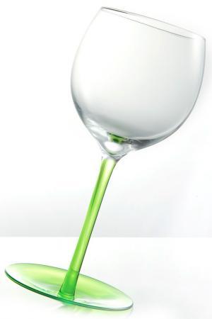 Бокал Brandani. Цвет: зеленый