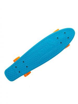 Круизер Sulov Neon 22, синий. Цвет: синий, оранжевый