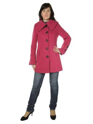 Пальто AURORA. Цвет: фуксия