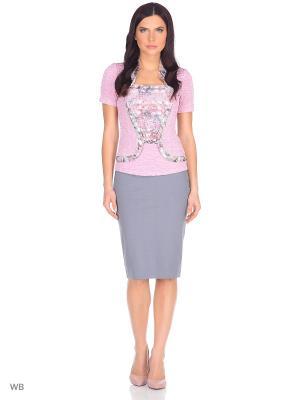 Блузка TheDistinctive. Цвет: розовый