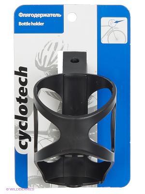 Флягодержатель велосипедный Cyclotech. Цвет: черный