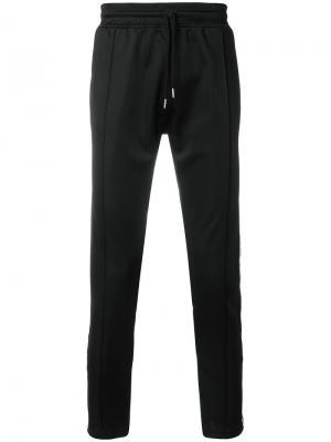 Спортивные брюки с лампасами Les (Art)Ists. Цвет: чёрный