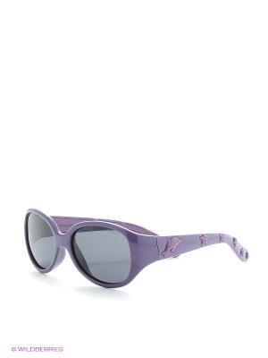 Солнцезащитные очки Polaroid. Цвет: сиреневый, коричневый, красный